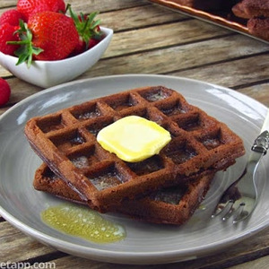 Double Chocolate Keto Waffles recipes