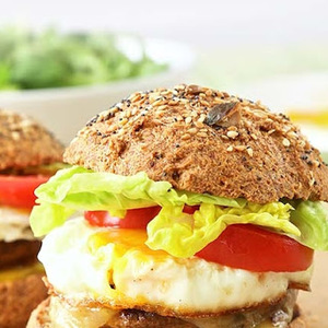 Vegetarian Keto Burgers recipes